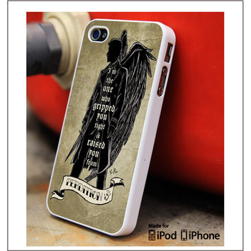 Perdition Castiel Supernatural Samsung Galaxy S3 S4 S5 Note 3 4 Case, iPhone 4S 5S 5c 6 Plus Case, iPod 4 5 Case