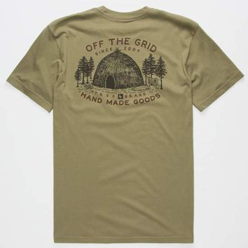 HIPPYTREE Wigwam Mens T-Shirt | Graphic Tees