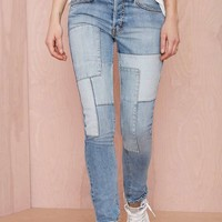 Nasty Gal Denim - Piece and Love Boyfriend