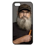Duck Dynasty Uncle Si Apple iPhone 5 Case