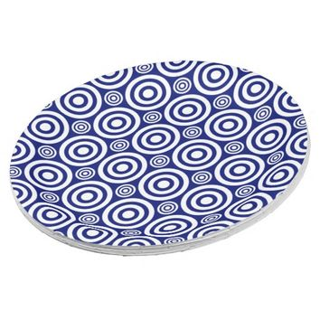 Target Bullseye-PAPER PLATES-Blue-White 9 Inch Paper Plate  sc 1 st  Wanelo & Best Blue And White Paper Plates Products on Wanelo