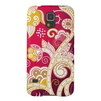 Red Abstract Galaxy S5 Cases