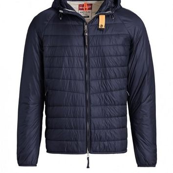 PARAJUMPERS NEW Fashion Navy blue down jacket(MEN)