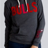 Junk Food Clothing - NBA Chicago Bulls Pullover Hoodie - Sweatshirts - Tops - Womens