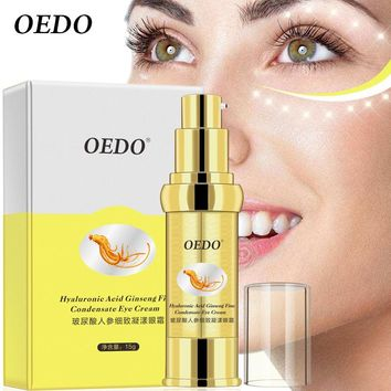 Ginseng Eye Cream Anti-Puffiness Dark Circle Anti-Aging Moisturizing Whitening Eye Cream Serum