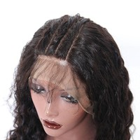 Brazilian Loose Wave 13x6 Deep Part Lace Frontal Human Hair Wigs With Baby Hair Pre Plucked 150% Density Lace Wig