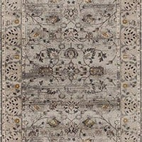 1936 Gray Distressed Oriental Area Rugs