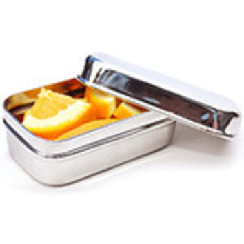 "ECO Lunchboxes Stainless Steel Lunchboxes & Trays ECO Lunchpod 4"" x 2 1/2"" x 1 1/2"" BPA-Free"