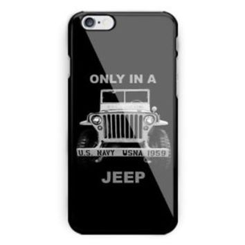 Best Only a Jeep Wrangler For iPhone 6 6s 7 8 X Plus Har Plastic Case