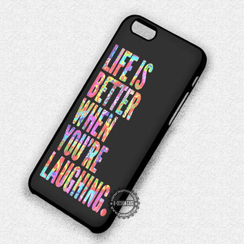 Retro Life Inspiring - iPhone 7 Plus 6 SE Cases & Covers