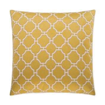 Kinder-Yellow Pillow