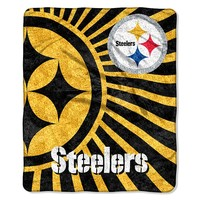 Pittsburgh Steelers Sherpa Blanket (Stl Team)