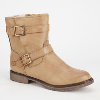 Dirty Laundry Riotgirl Womens Boots Mud  In Sizes