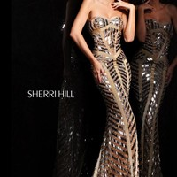 Sherri Hill Dress 2813 at Prom Dress Shop