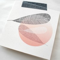 Floating Feathers Gift Card | Hello Pretty. Buy design.