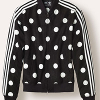 PW BIG POLKA DOT TRACK JACKET BLACK - 35 - Billionaire Archive