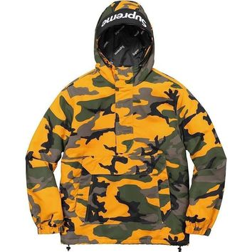 cc hcxx Supreme Yellow Camouflage Jacket