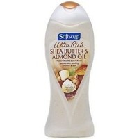 Softsoap Ultra Rich Shea Butter And Almond Oil Moisturizing Body Wash, 15 Fluid