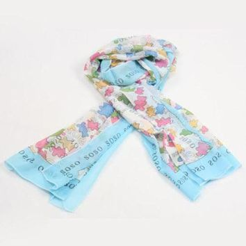 DCCK7HE Perfect TOUS Woman Fashion Accessories Sunscreen Cape Scarf Scarves