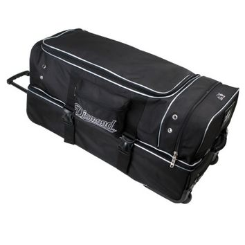 Diamond Deluxe Pro Umpire Gear Bag - Black