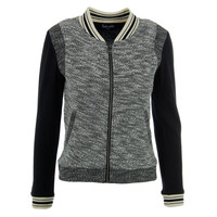 Splendid Womens Knit Marled Jacket