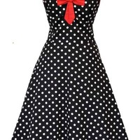 Polkadot Pageant Dress