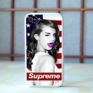 lana del rey supreme iPhone 6 6s Plus case, iPhone 5s 5c 4s Cases, Samsung Galaxy Case