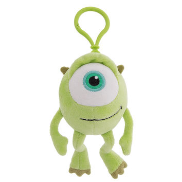 Disney Parks Monsters Mike Wazowski Plush Keychain New with Tags