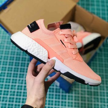 Adidas P.o.d System Boost Pink Sport Running Shoes - Best Online Sale