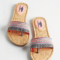 ModCloth Boho One-Cayman Band Sandal