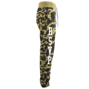 BAPE x RSVP 1st Camo Sweat Pants (Green) – RSVP Gallery