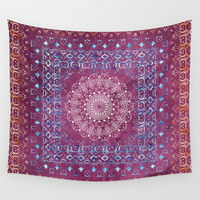 Old Bookshop Magic Mandala Wall Tapestry by Octavia Soldani | Society6