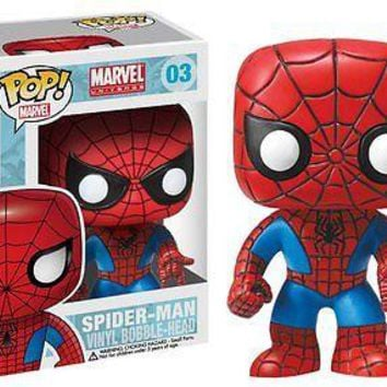 Funko Pop Marvel: Spider-Man Vinyl Figure