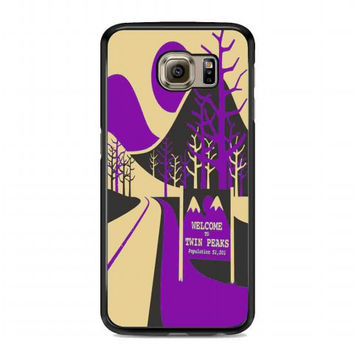 Welcome to Twin Peaks 2 For samsung galaxy s6 case