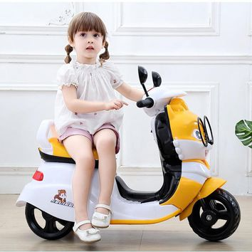 New Children Electric Motorcycle Three Wheels for Kids Ride on 1-3-6 Years Charging Music Motorcycle Electric Trike