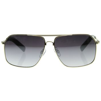 Premium Asian Fit Sports Metal Frame Square Aviator Sunglasses 8529
