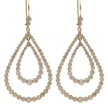 Andrea Fohrman Double Teardrop Earring