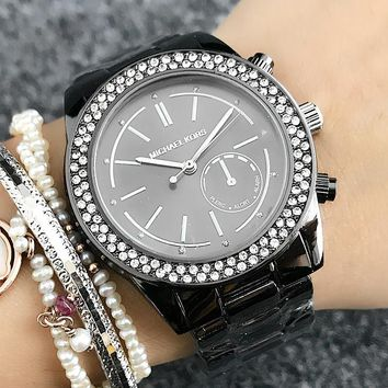 Michael Kors MK Women Fashion Quartz Movement Wristwatch Watch