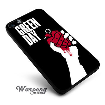 Green Day band iPhone 4s iphone 5 iphone 5s iphone 6 case, Samsung s3 samsung s4 samsung s5 note 3 note 4 case, iPod 4 5 Case