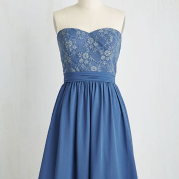 Long Strapless A-line Dazzlingly Ever After Dress