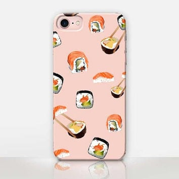 Sushi Phone Case For - iPhone 7 Case - iPhone 7 Plus Case - iPhone SE Case - iPhone 6S case - iPhone 6 case iPhone 5 Case Samsung S7