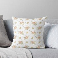 'Fable of Spring' Throw Pillow by miavaldez