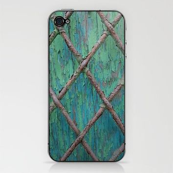 Rusty Fence Phone Skin by Shy Photog | Society6