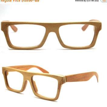 20% OFF Sale 20 Percent Takemoto Knight Handmade American Cherry Wood Wooded Glasses Eyeglasses