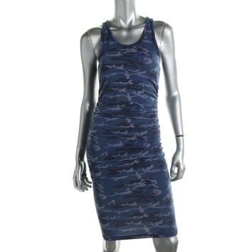 Rachel Rachel Roy Womens Camouflage Ruched Casual Dress