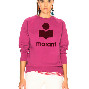 Isabel Marant Etoile Milly Sweater in Raspberry | FWRD