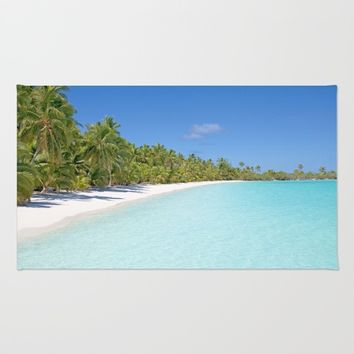 Tropical beach Rug by PRODUCTPICS