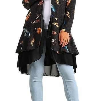 Falling Leaves Duster  Made in USA