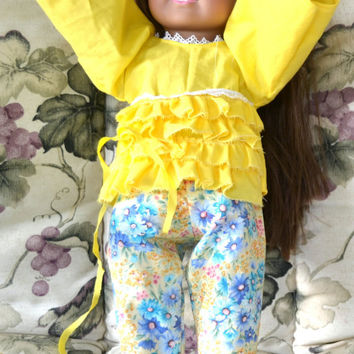 American Girl Doll Clothes Pants and Top 18 Inch Doll  Clothes