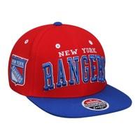Zephyr New York Rangers Super Star Snapback Hat -